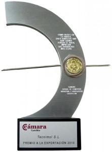 Tecnimol Premio Exportacion 2010